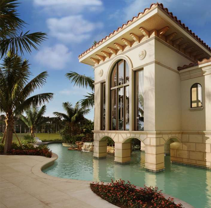 Naples, Florida 3D Rendering Residence - After