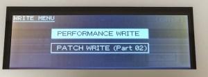 PERFORMANCE WRITE