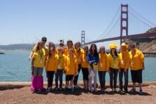 youth corps bay bridge 2013 San Francisco Susan G. Komen 3-Day breast cancer walk