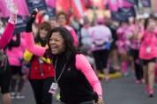 dr sheri high five 2013 San Diego Susan G. Komen 3-Day breast cancer walk