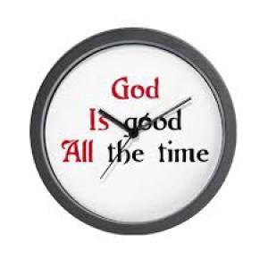 God is good clock