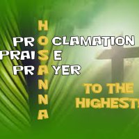 Hosanna is a Proclamation, Praise and Prayer!