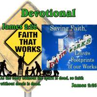 James 2:14-26 – Saving Faith Leaves Footprints of our Works