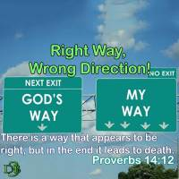 Right way, Wrong direction