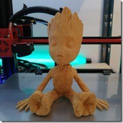 Impression 3D bambou de GROOT