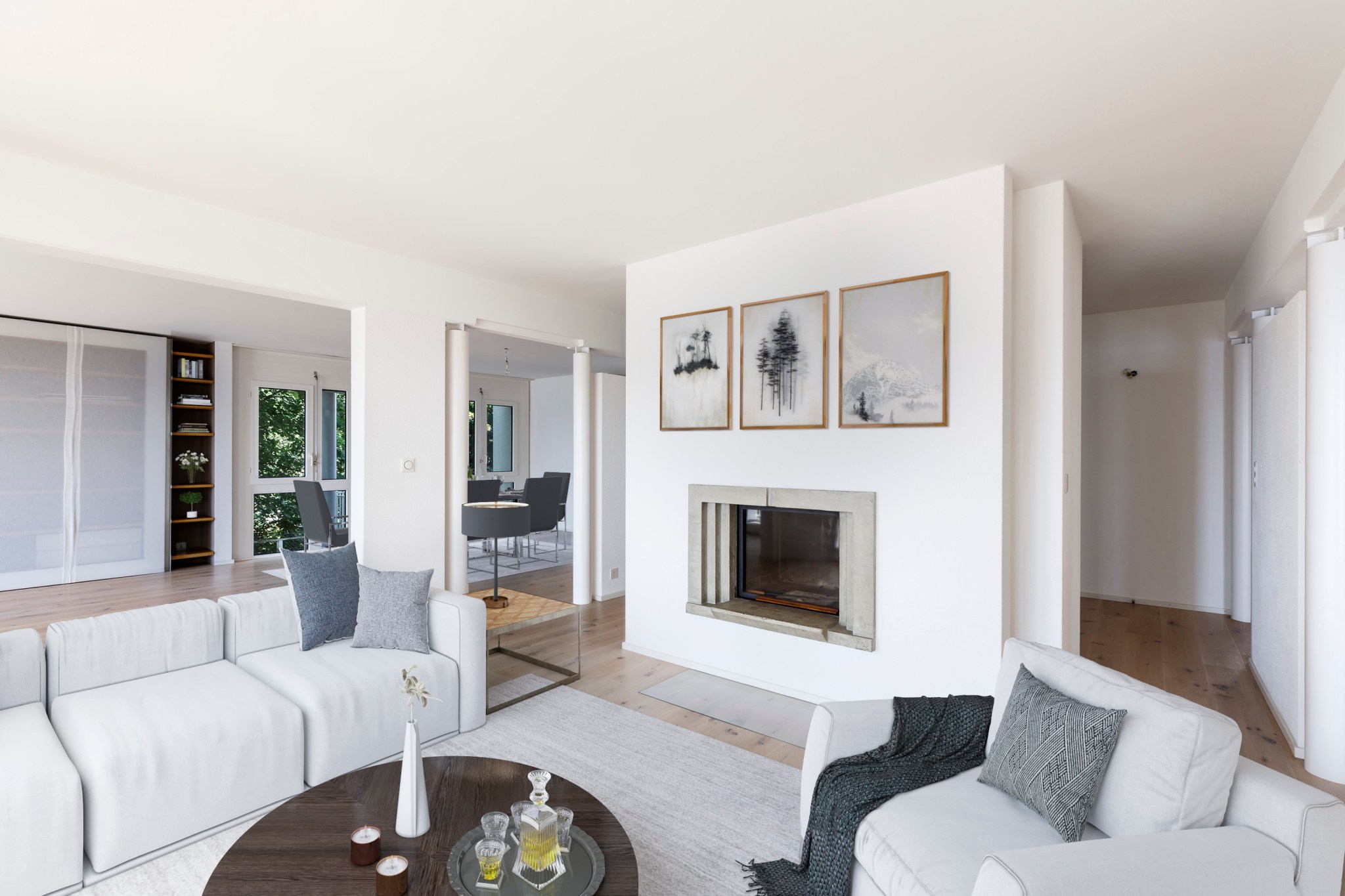 virtual staging immobilier