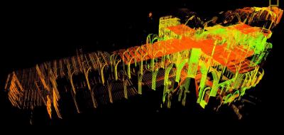 scan 3D Notre-Dame