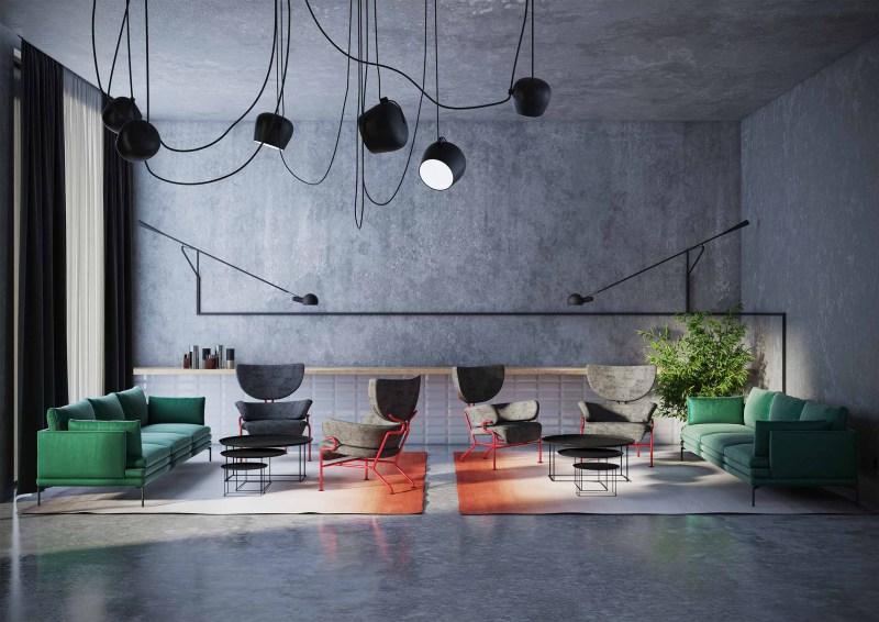 Rendering Triennale Milano