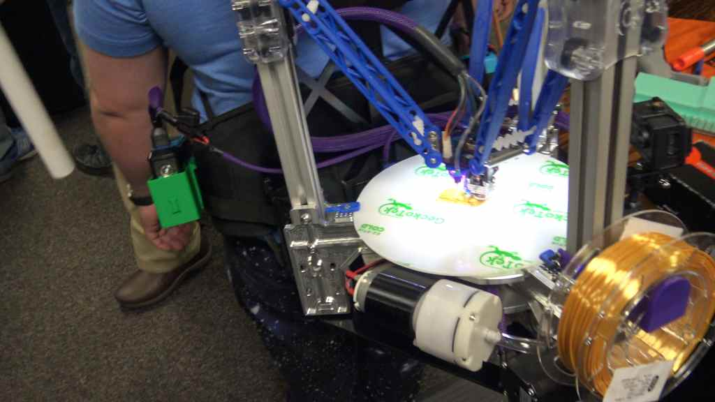 Backpack Delta 3D Printer mrrf 2019