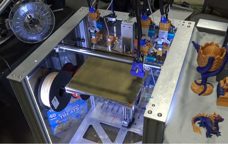 Large Scale E3D Tool Changer Printer