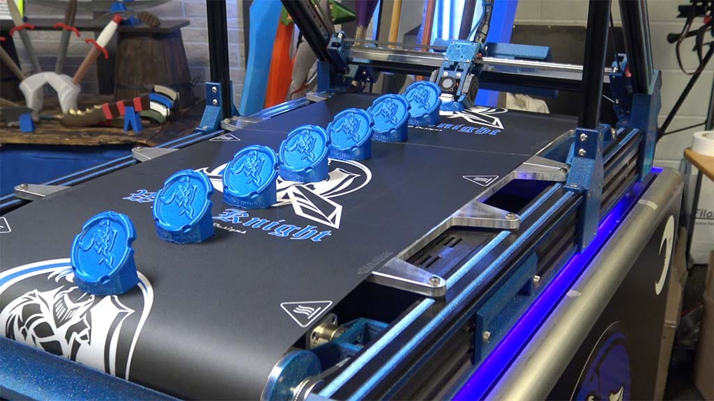 White Knight 3D Printer