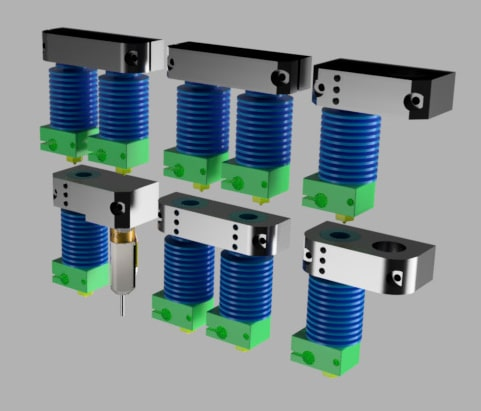 Hotend Mounts