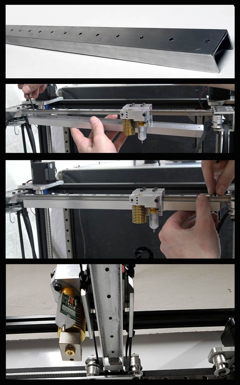 Linear Rail Supports