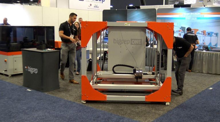 BigRep Large Scale 3D Printer