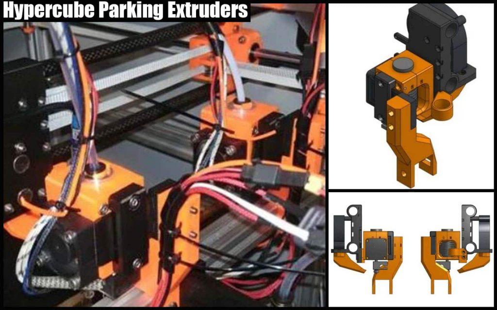 HyperCube parking extruders