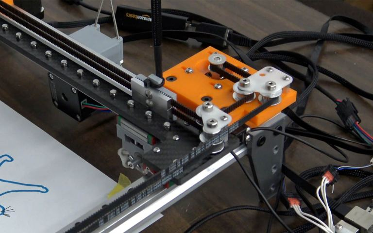 Jubilee CoreXY Mechanical Arrangement
