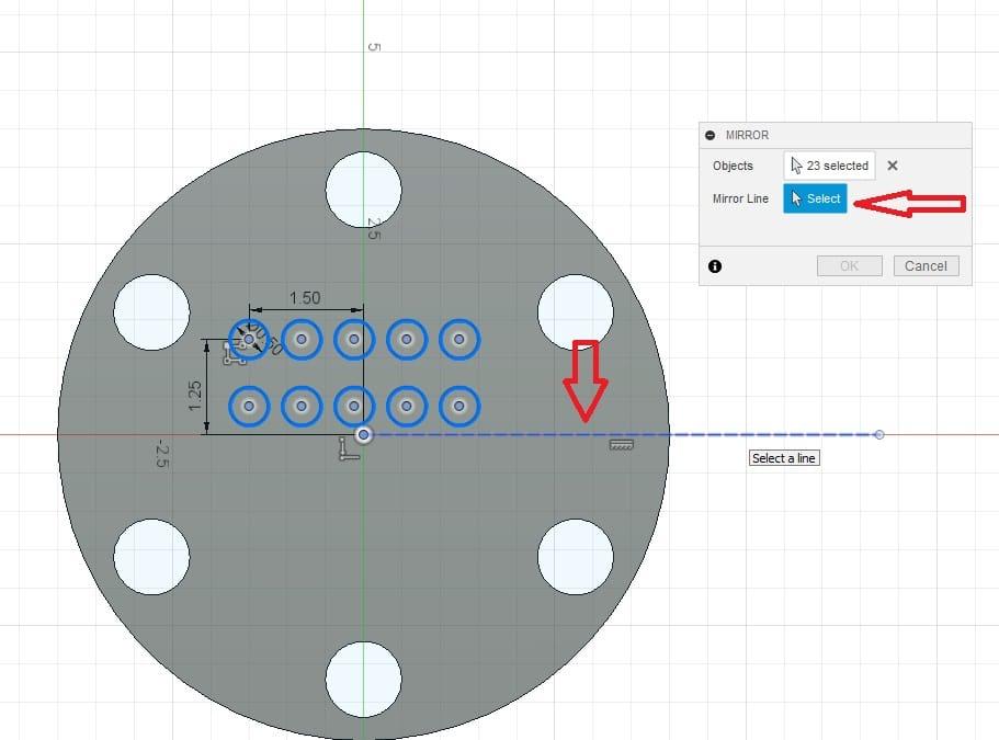 Fusion 360 Tutorial-Circular Pattern-Rectangular Pattern 23
