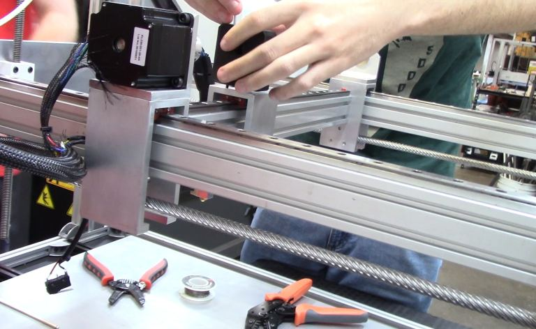 Screw Down Y-Carriage To Y-Axis Linear Rail