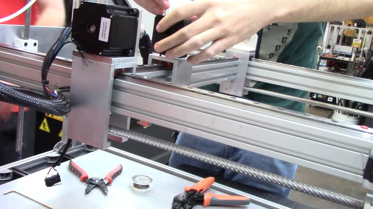 Y-Axis Idler Assembly