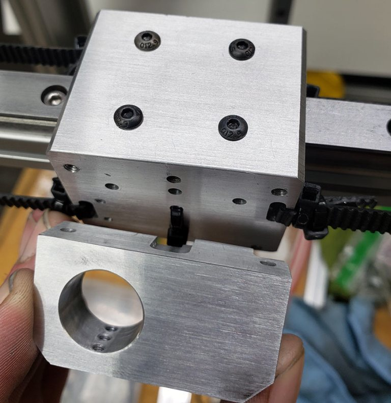 Metal Y-Axis Assembly Hotend Mount