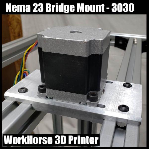 Nema 23 Bridge Mount-3030