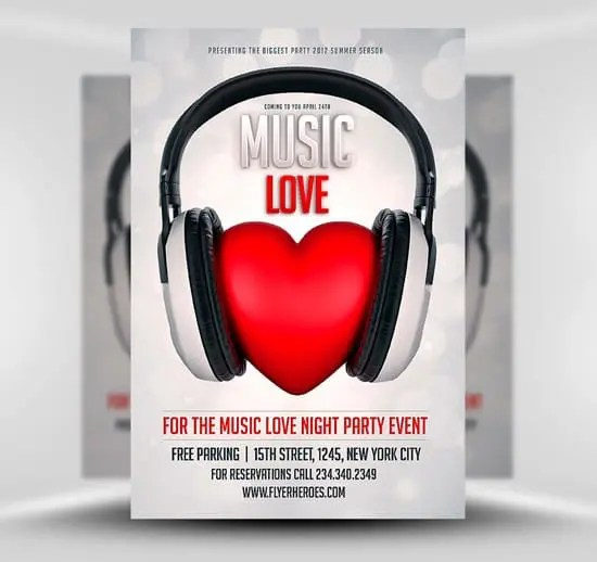 Music-Love-Flyer-Template