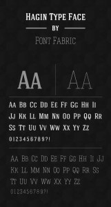 Hagin Font