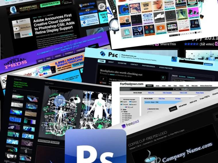 Recursos, 5 webs para conseguir PSD gratis