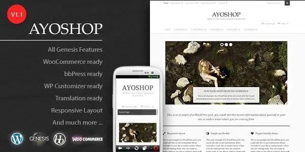 Ayoshop tema wordpress