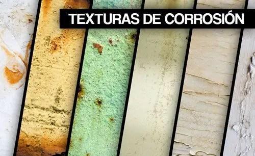 33 texturas de corrosión gratis