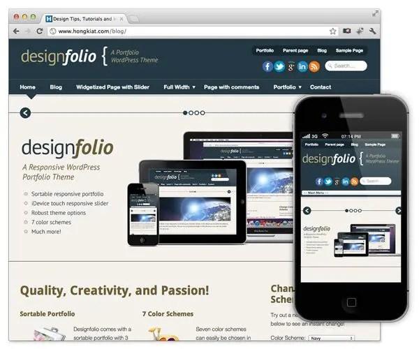 10 temas de WordPress adaptables gratis
