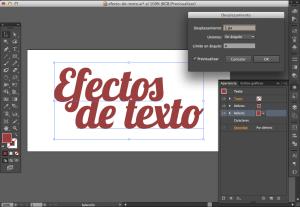 Efecto texto illustrator 03