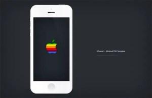 iphone5-minimal-psd-mockup
