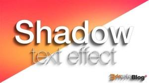 Efecto de sombra Photoshop