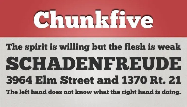 Chunkfive fuente gratis