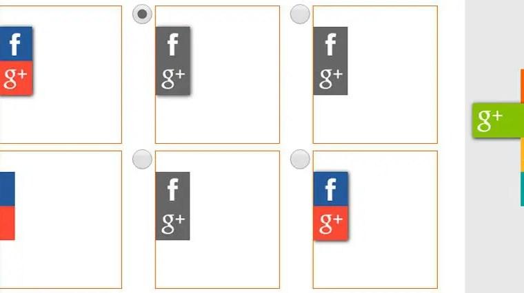 Generador de pestañas CSS para redes sociales