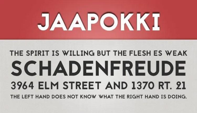 Jaapokki fuente gratis