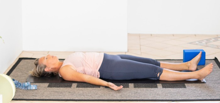 three deep breaths Savasana Benefits