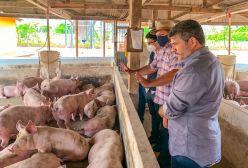 Pré-candidato ao Governo, Jenilson Leite visita agronegócios do Alto Acre 1