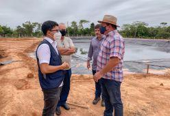 Pré-candidato ao Governo, Jenilson Leite visita agronegócios do Alto Acre 3