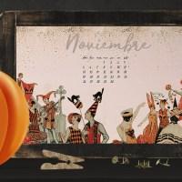 Wallpaper del mes de noviembre - Gratis