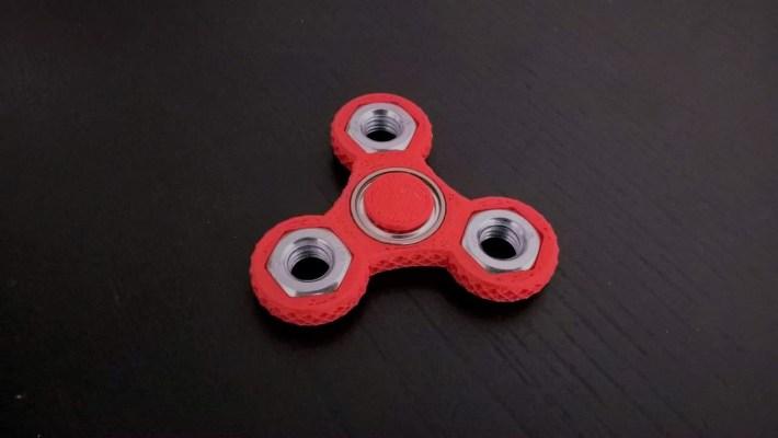vytlačeny fidget spinner