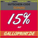 15% auf GalloPrint