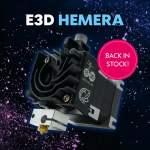 🤡 E3D HEMERA wieder bei 3DJake verfügbar