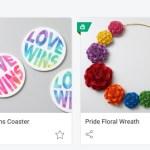 Cricut: Pride-Freebies und Kerning-Funktion