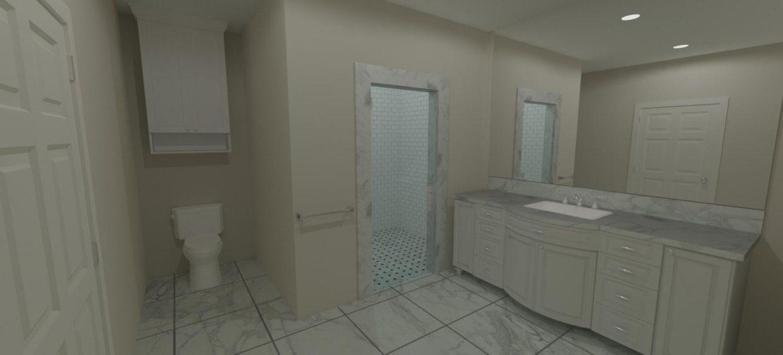 Full Shower Enclosure