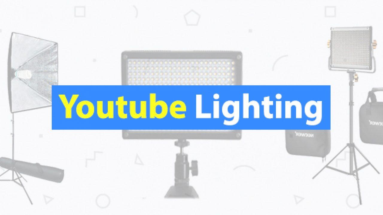 lighting for youtube videos