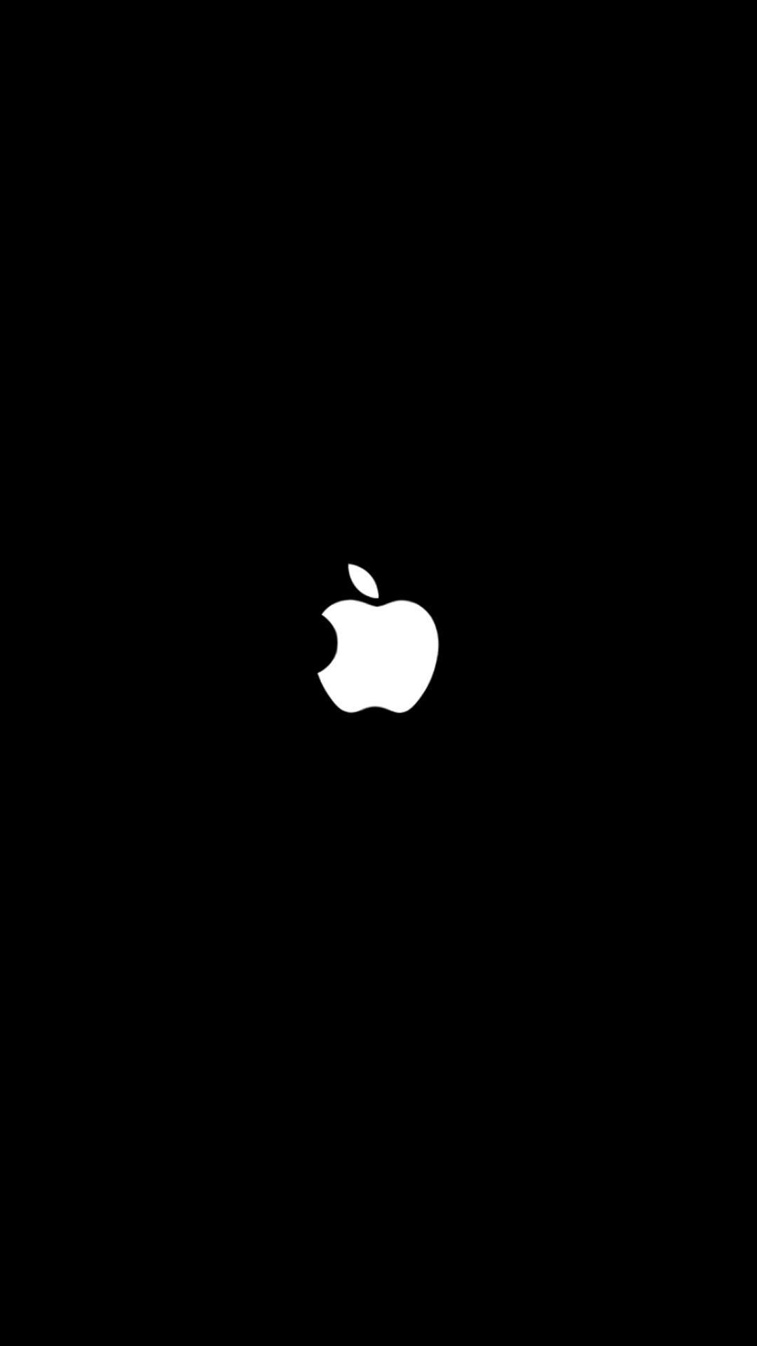 Wallpaper Black Apple For Iphone 7 2020 3d Iphone Wallpaper