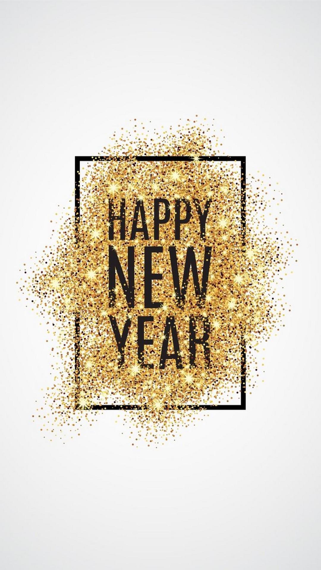 Iphone X Wallpaper Happy New Year