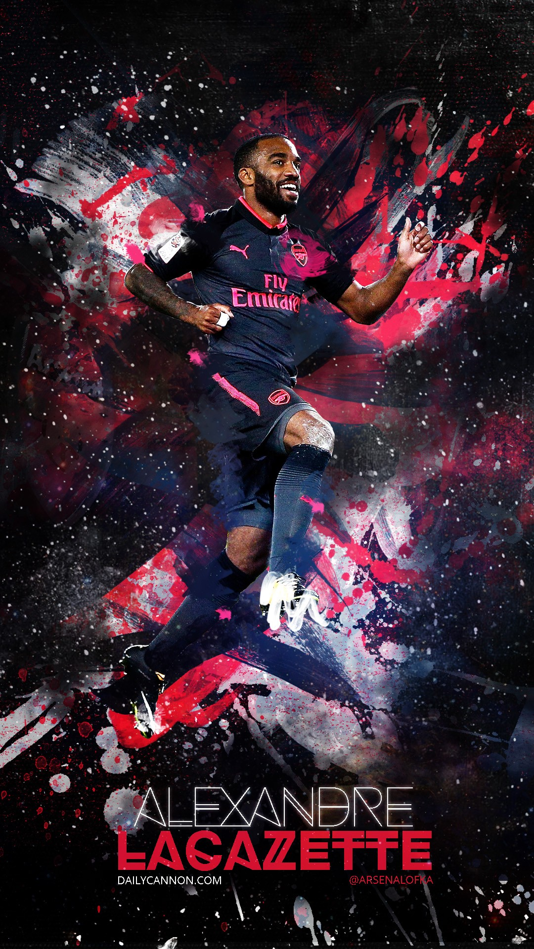 alexandre lacazette arsenal iphone